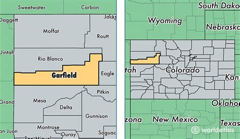 Garfield County Records Garfield County Colorado Map My