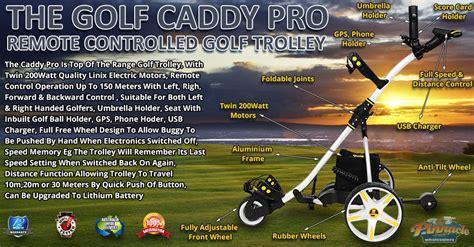 pro caddy golf trolley