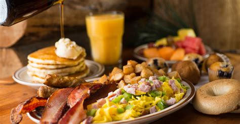 A Delicious Breakfast Buffet Awaits You At Agave Pool Brunch Buffet