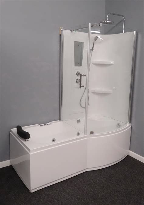 whirlpool bath and shower combo l90s45 w right whirlpool tub shower combo luxury shower room