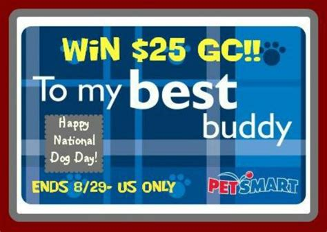 Petsmart Gift Card - 25 petsmart gift card giveaway miss molly says