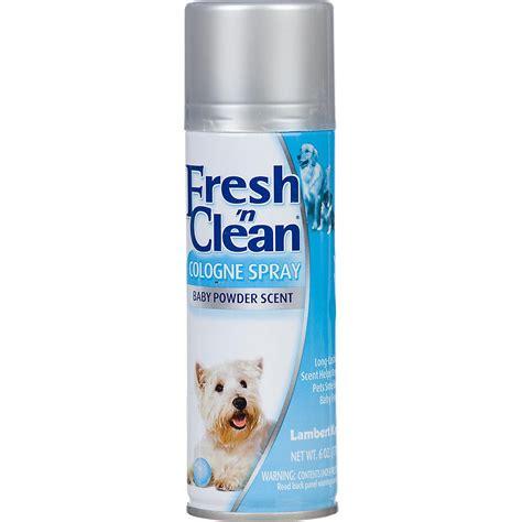 baby powder on dogs fresh n clean baby powder spray petco