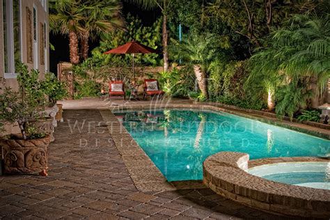 pool paver ideas geometric pools and spas gallery western outdoor design