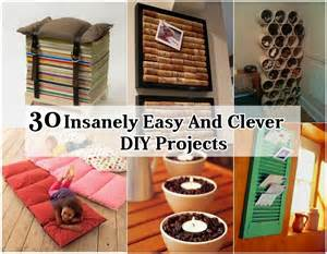 31 insanely easy and clever diy projects diy craft projects