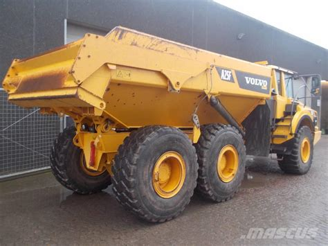 used volvo tractors for used volvo a25f rigid dump trucks year 2011 for sale