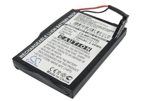 269yd 720 3 In 1 Import Bag 720mah battery for magellan roadmate 1300 1340