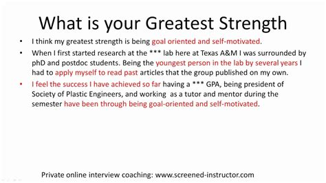 strengths and weaknesses job interview nursing free resume