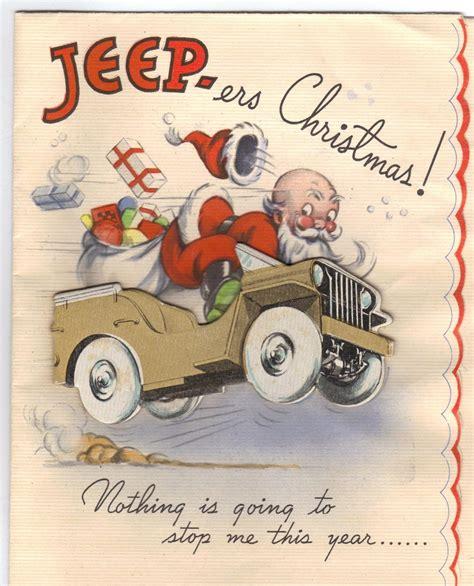 jeep christmas santa s jeep wwpd wargames board games rpgs lcgs