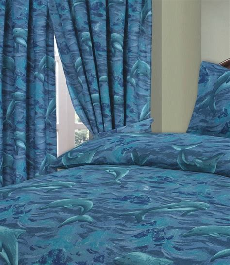 Bed Cover Set Dolphin Uk 180x200 dolphin duvet cover set from century textiles
