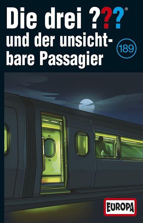 189 und der unsichtbare p die drei fragezeichen folge 189 und der unsichtbare passagier mc 889853587940 ebay