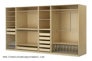 wardrobe armoire closet furniture designs diy home