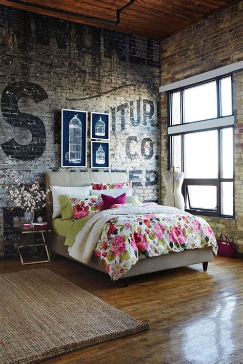 Brick Wall Bedroom by Rustic Brick And Looks Great In The Bedroom