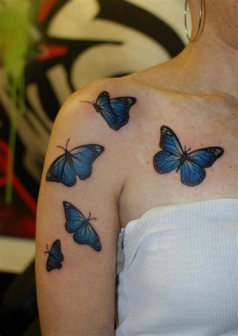 73 Awesome Butterfly Shoulder Tattoos Butterfly Tattoos On Shoulder Blade