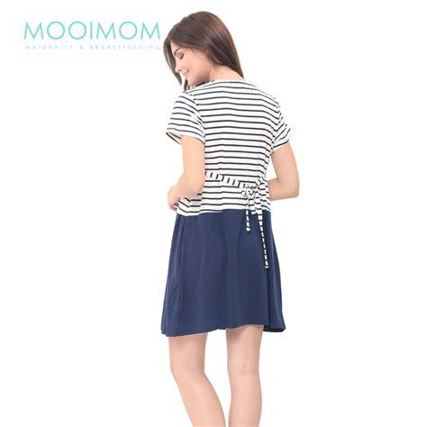 Baju Tidur 7009 jual murah mooimom scout look nursing dress set