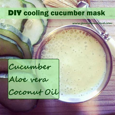 diy cooling mask diy cooling cucumber mask the paleo