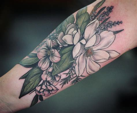 magnolia tattoos 8 749 likes 54 comments carrier alicerules on