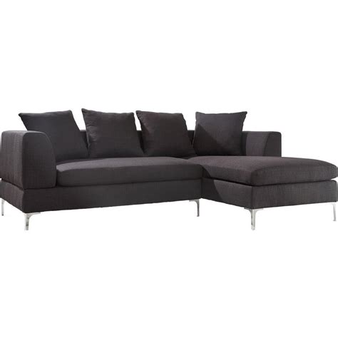 homesullivan indio grey polyester 2 sectional 409615