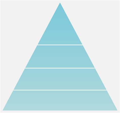 The Gallery For Gt Pyramid Template With 5 Levels Hierarchy Pyramid Template