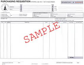 purchase requisition template wcsu purchasing manual
