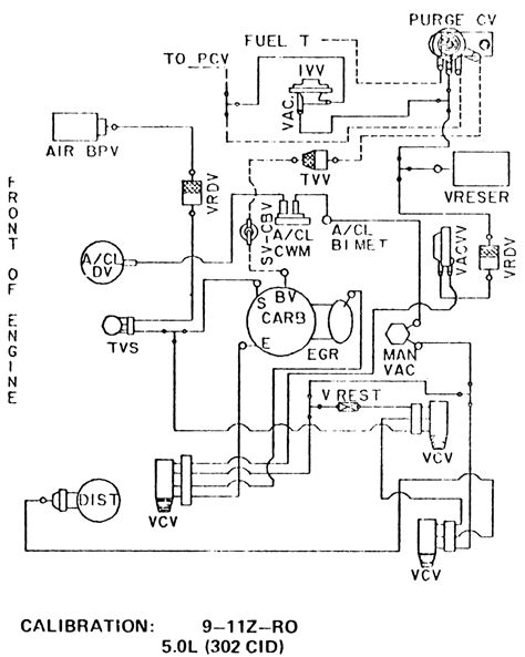 vacuum diagram 1978 ford vacuum diagram 1978 free engine image for user