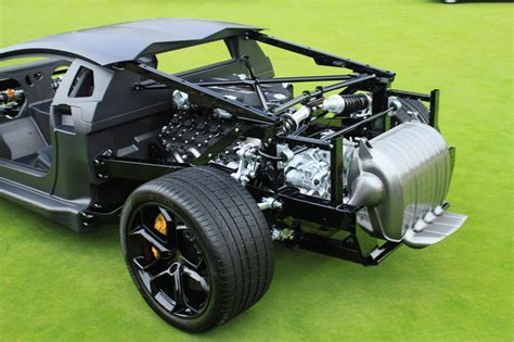 Car Frame Types by Image Lamborghini Aventador Rolling Chassis Size 1024 X