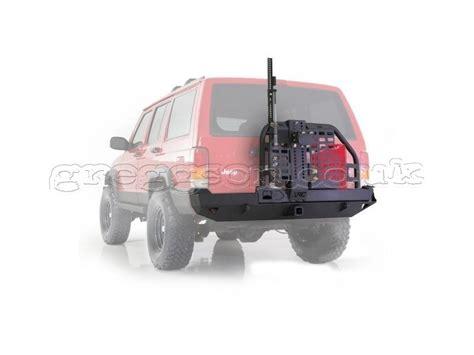 jeep swing away tire carrier jeep cherokee xj rear bumper xrc swing away tire carrier