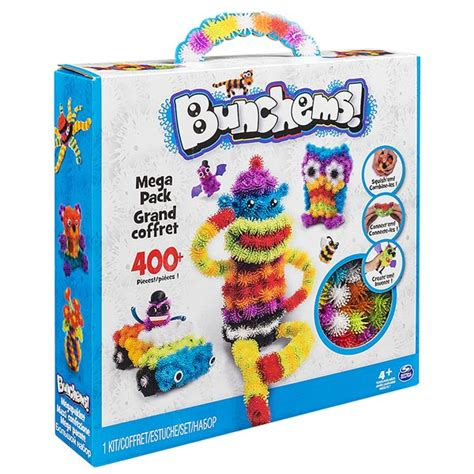 Bunchems Mega Pack bunchems mega pack 400 spin master king jouet pate 224
