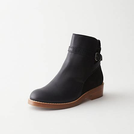 acne clover low heel ankle boot style for