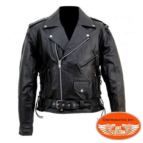 design biker jacket leather biker jacket skull hells design amt custom shop