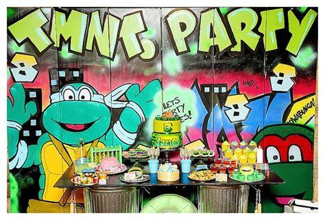 Karas Party  Ee  Ideas Ee   Ninja Turtles Graffiti Party Karas