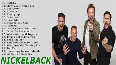 nickelback best nickelback greatest hits playlist best hits