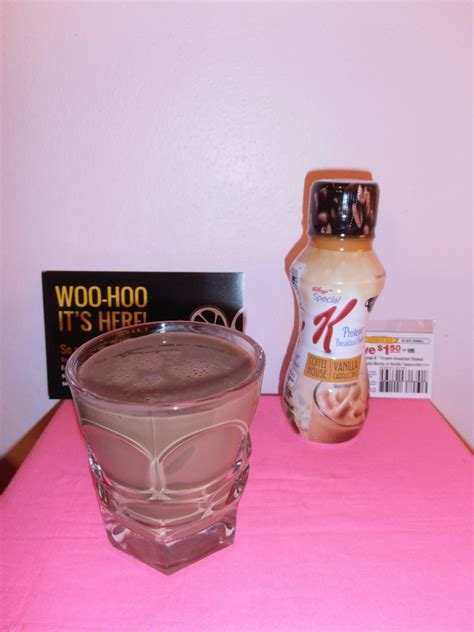 k protein shakes reviews kellogg s special k protein breakfast shake review