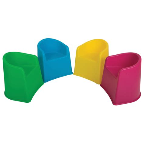 Childrens Chair by 4 Tub Chairs Recyled Plastic The Kiddies Shop