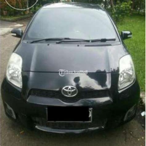 Tv Mobil Yaris mobil toyota yaris tipe j second tahun 2012 hitam velg racing denpasar bali dijual tribun