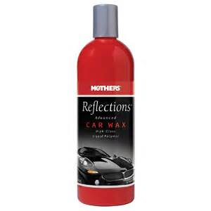 mothers reflections advanced car wax review
