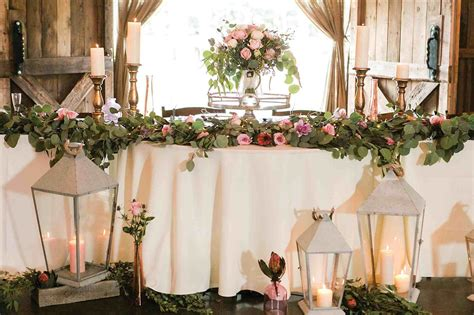 decorating wooden rustic wedding table decor ideas barn wood marquee rustic wedding head table ideas letters