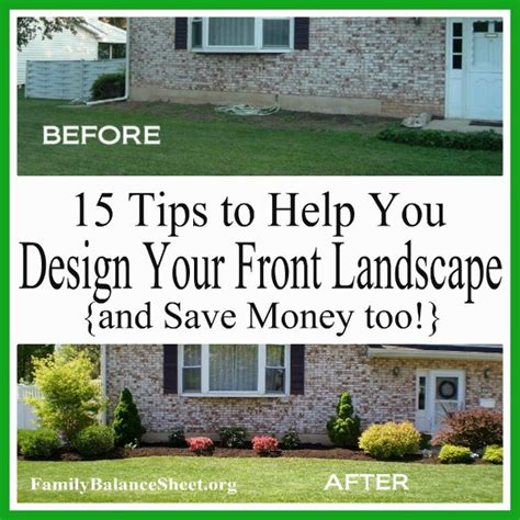 how to design your backyard landscape 15 tips to help you design your front yard save money