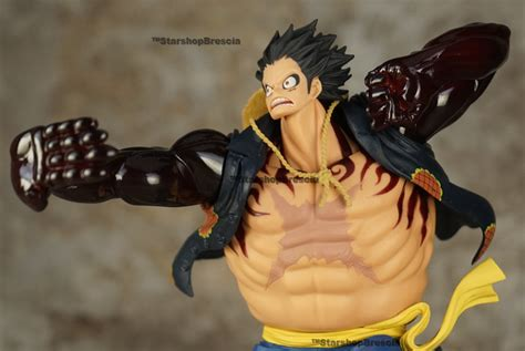 Scultures One Monkey D Luffy Gear 2 One Scultures Monkey D Luffy Gear Fourth Pvc Figure
