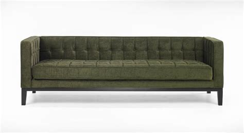 Roxbury Tufted Sofa Green Lc10103gr Decor South Green Tufted Sofa