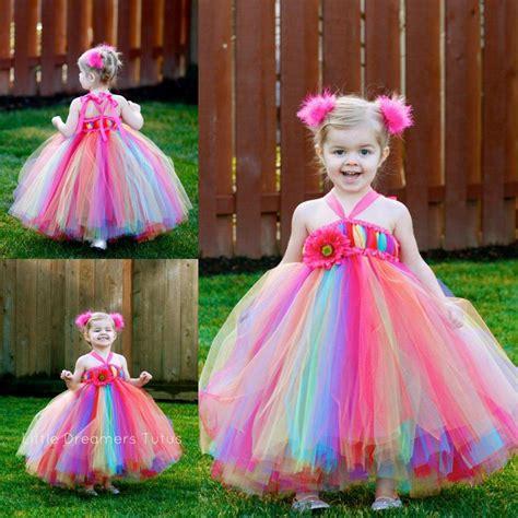 Maxi Luxy rainbow colored dress fashion luxy dress