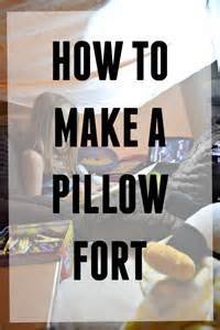 how to make a fort this s