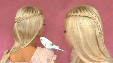 lilith moon josephine hairstyle tutoriol french lace braid tutorial cute hairstyle for short medium