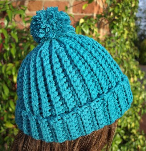 pattern crochet ribbed hat crochet hat pattern easy ribbed beanie by berrykidz