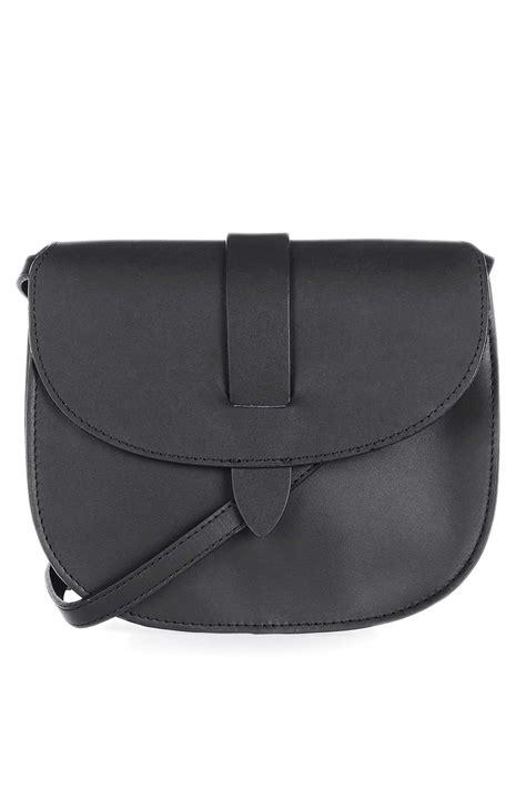 leather wand saddle bag topshop