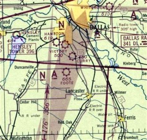 dfw sectional chart abandoned little known airfields texas southern