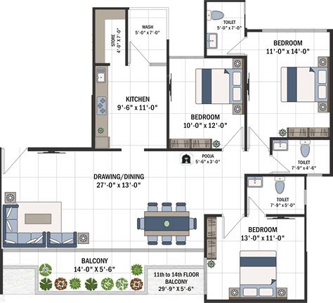 parkview floor plan shree 42 parkview in sola ahmedabad price location map floor plan reviews proptiger