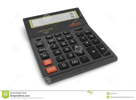 office calculator stock photos image 34470733