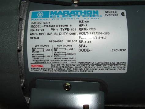 baldor motor furnas r44 wiring help