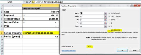 excel 2010 tutorial notes early loan payoff in excel 2010