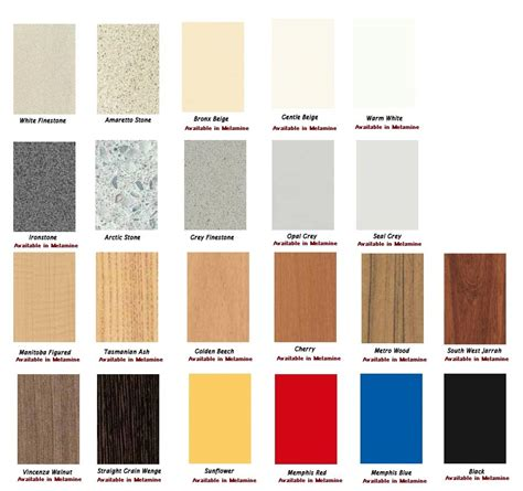 formica laminate colors melamine laminated table tops